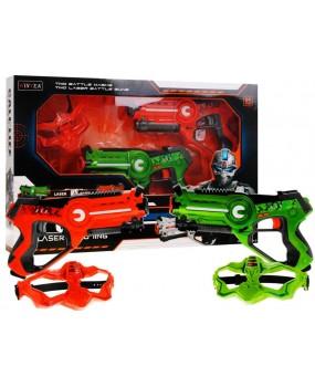 Laserová pištoľ Call of Life oranžová / zelená